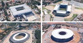 Video: Se samtlige VM-stadions fra Google Earth